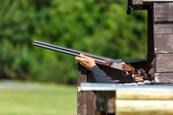 Clay shooting gift experiance
