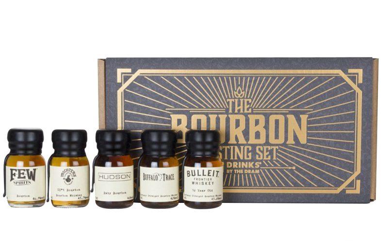 Bourbon tasting gift set