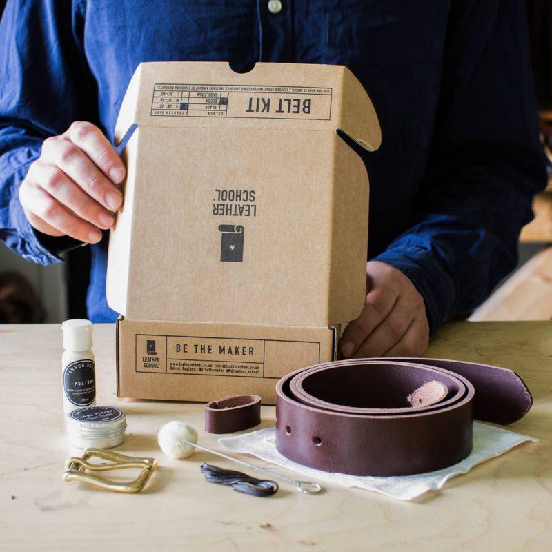 Make your own belt kit gift ideas for Grandpa