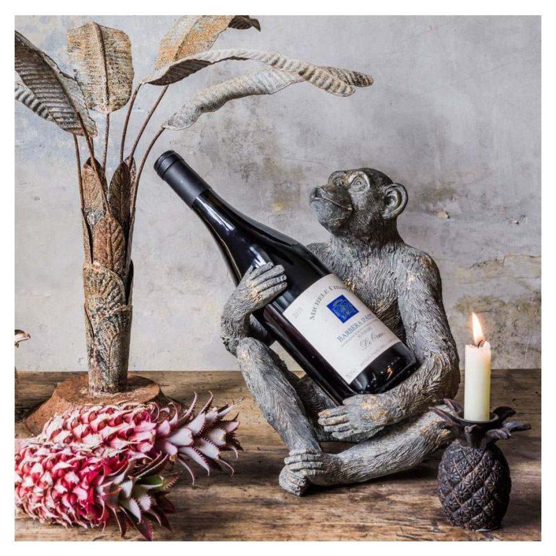 Monkey bottle holder housewarming gift idea