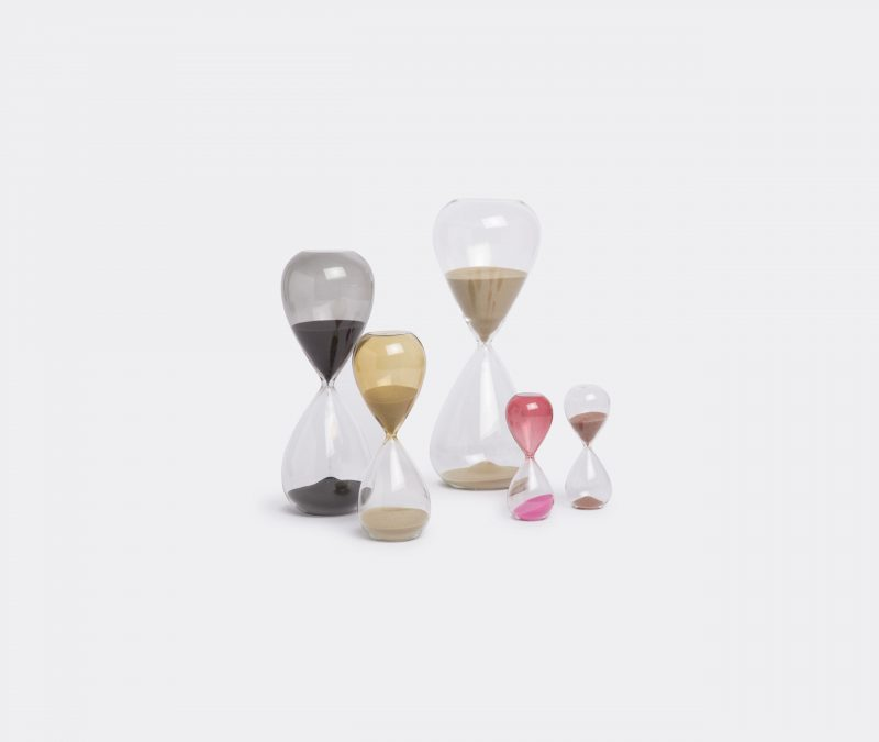 Time by hay hourglass collection