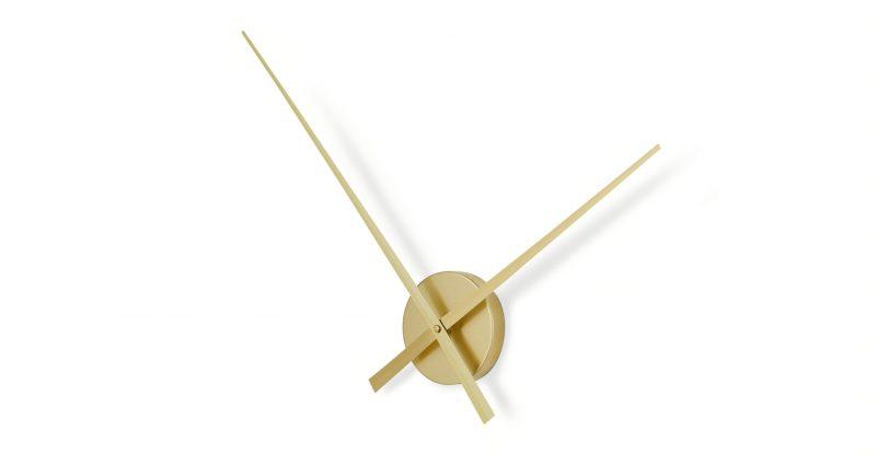 Lyla brass clock housewarming gift idea