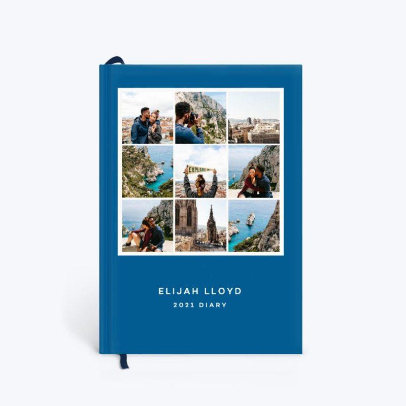 Modern Photo Grid Diary