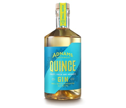 Quince flavour British gin Adnams Brewery