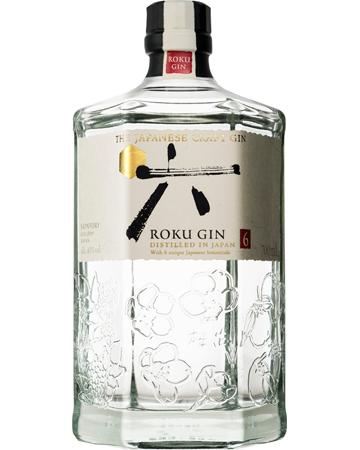 Japanese Gin Gift Ideas Roku Bottle