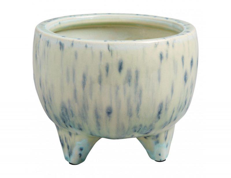 Shiloh Plant Pot in blue