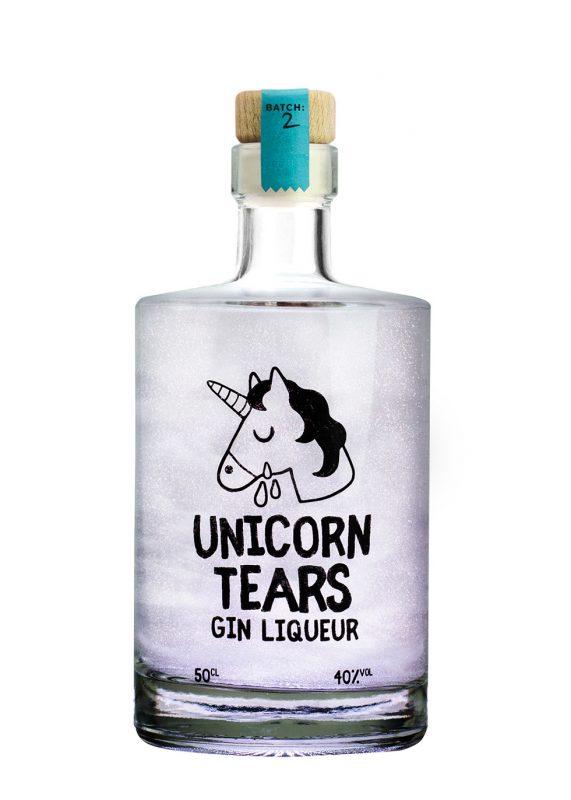 Unicorn sparkle gin liqueur