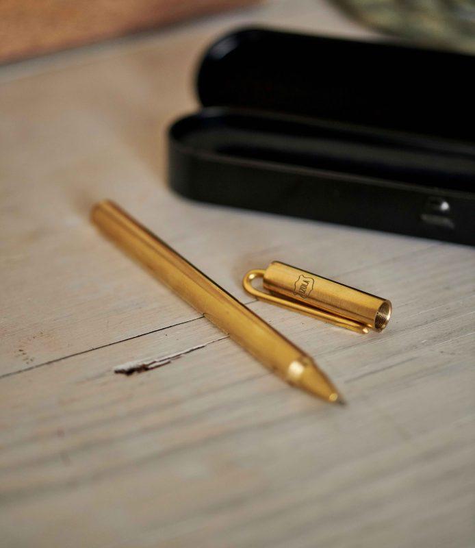 Classic brass pen gift