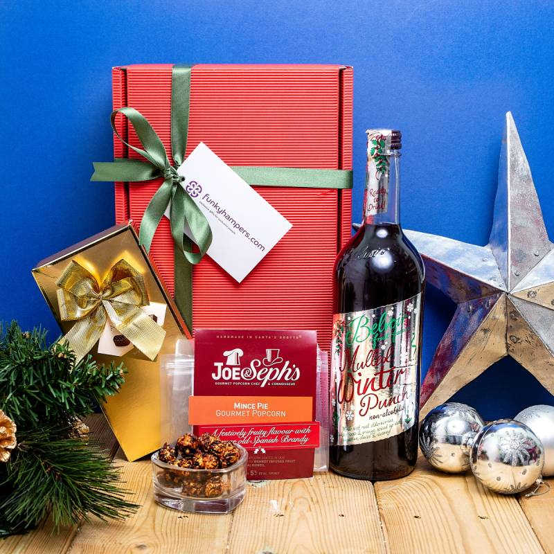 Christmas hamper without alcohol
