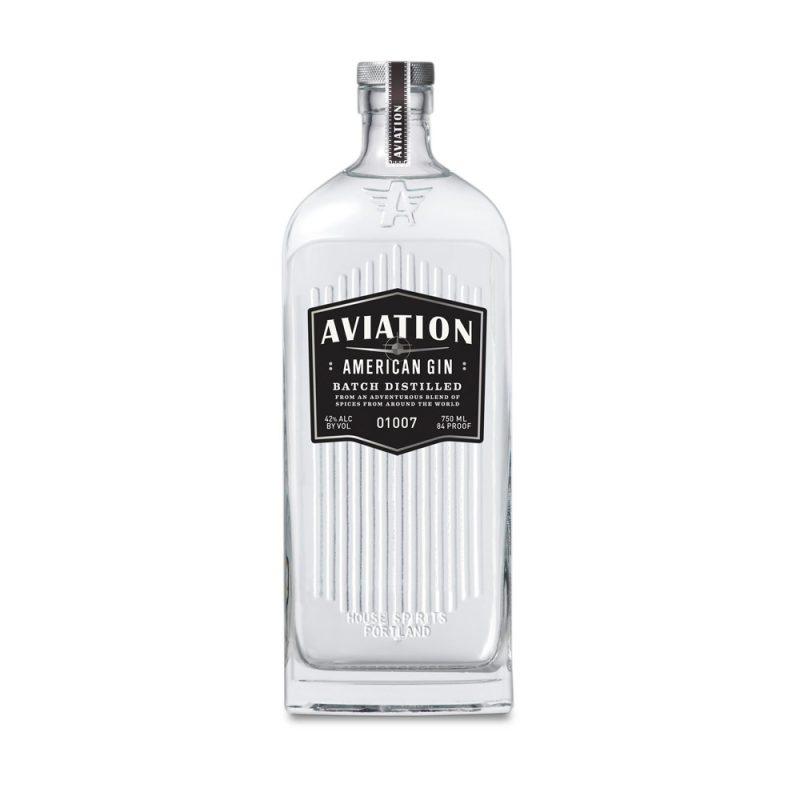 American Aviation Gin Bottle