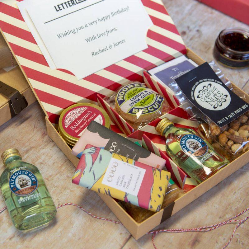Best of british themed gift hamper