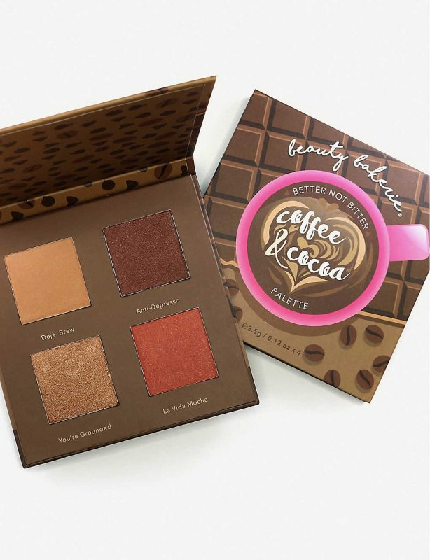 Coffee and cocoa bronzer palette