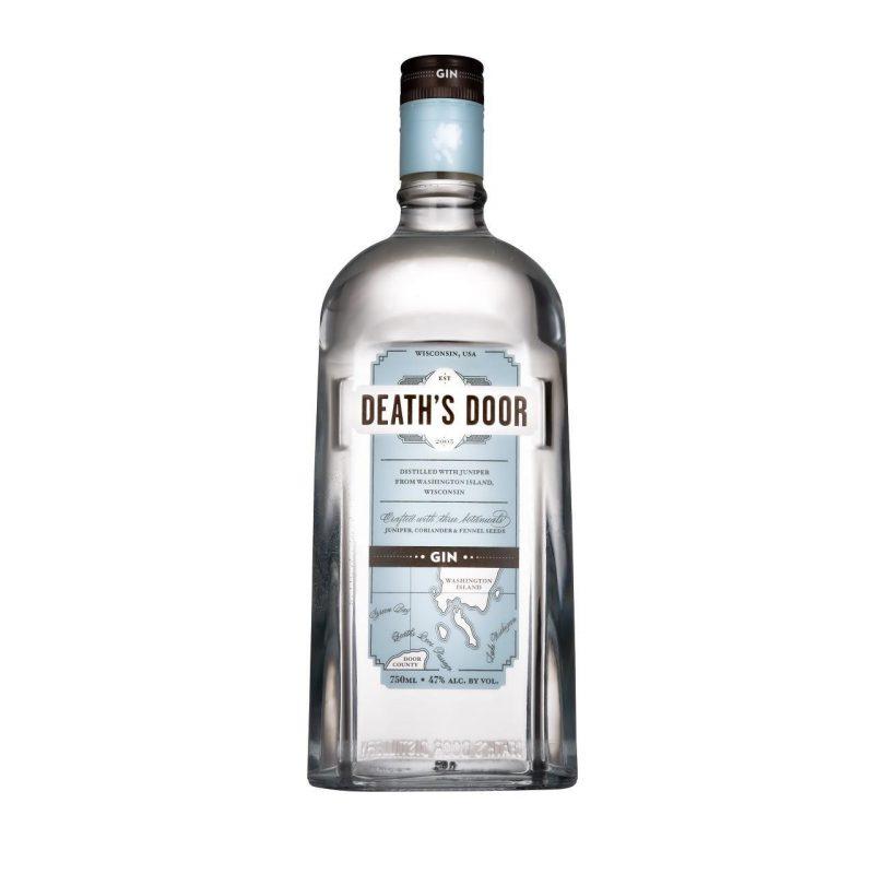 American Gin Deaths Door bottle