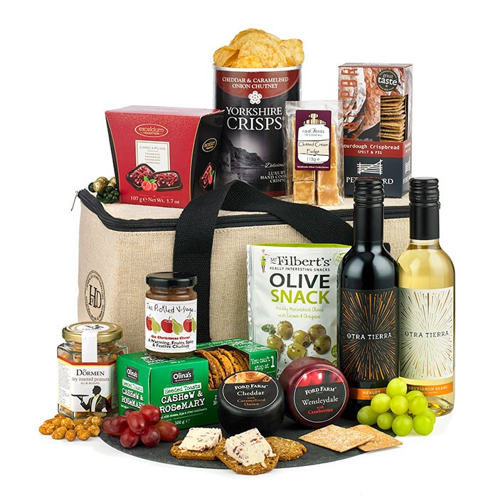 Fireside gift hampers to suit everyone
