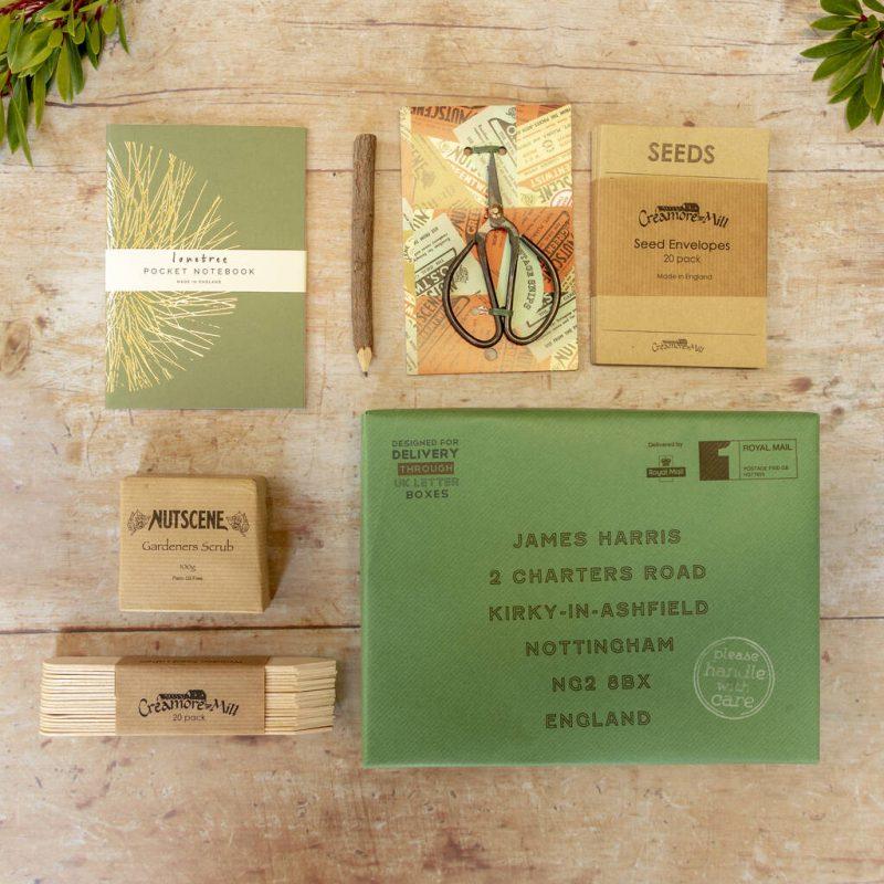 Gardener's letter box hamper