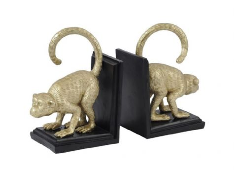 Hightail Golden Monkey Bookends