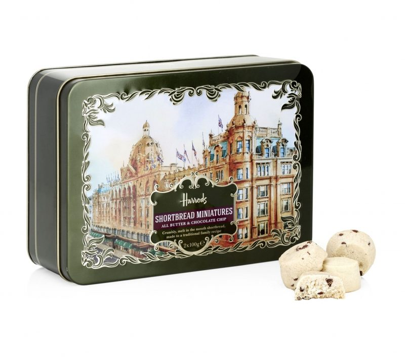 Harrods tin chocolate chip cookies
