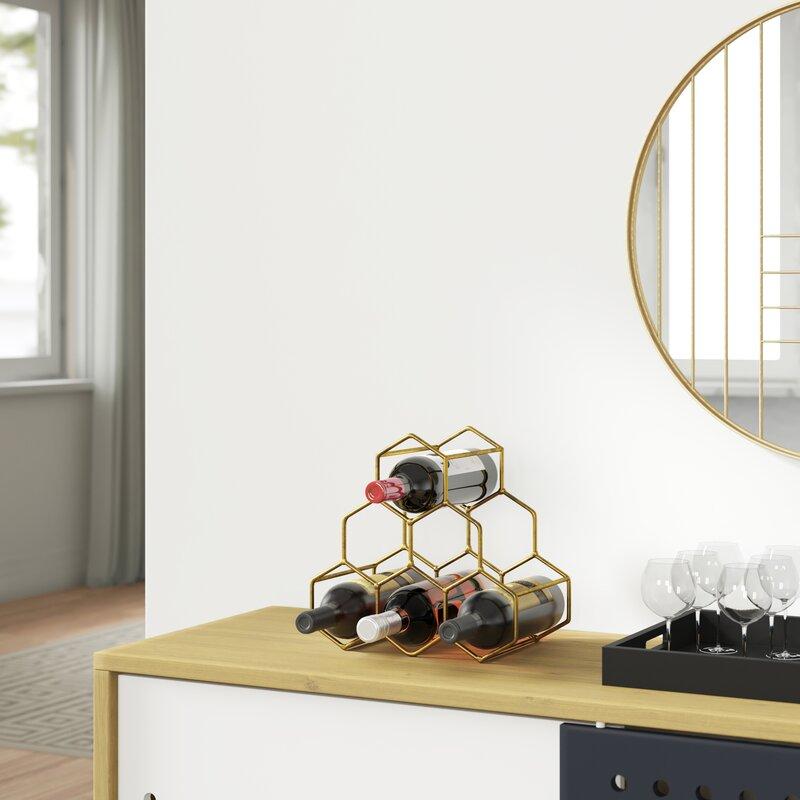 Coaling 6 Bottle Tabletop Wine Glass Rack Housewarming gift ideas