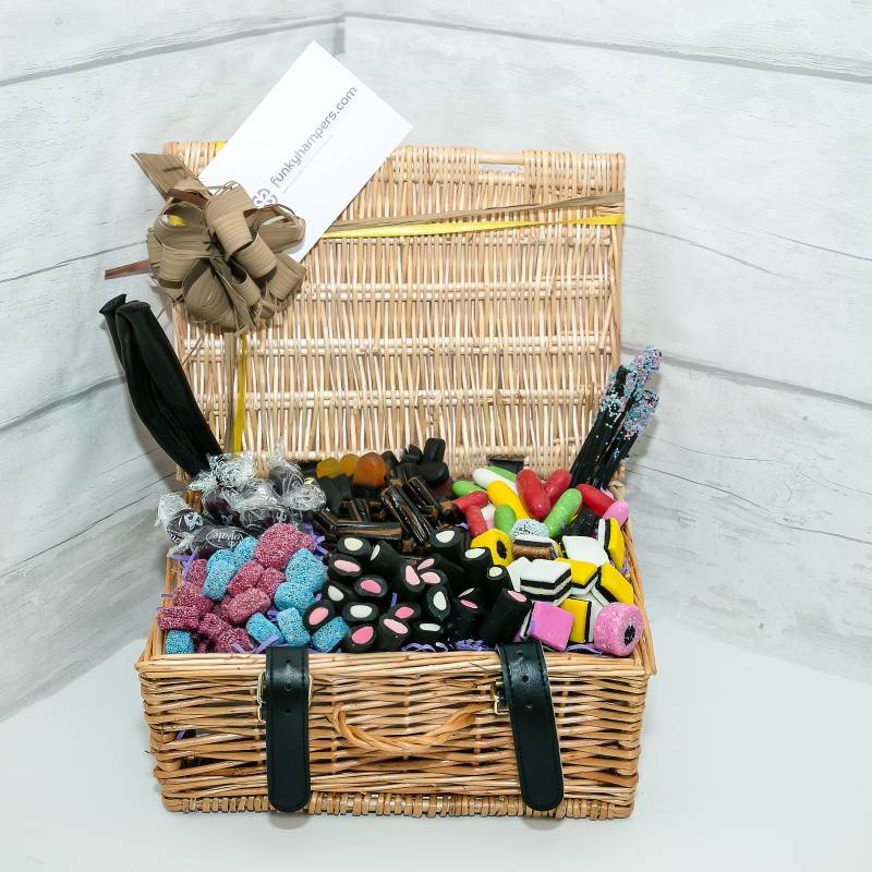 Liquorice themed gift hampers to suit everyone