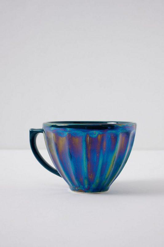 Lustre latte mug