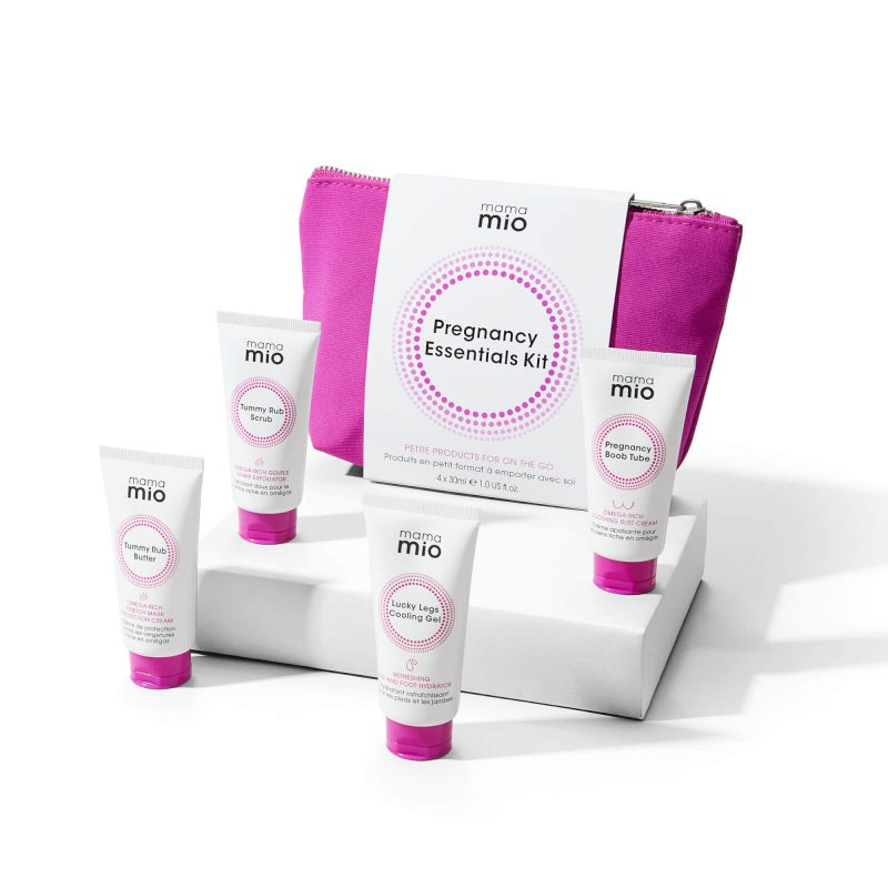mama mio pregnancy essentials gift set