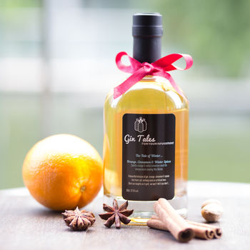 Gin Gift Ideas Orange and spice flavour