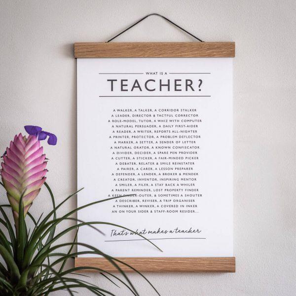 Teacher Poem personal gift art