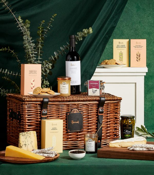 Savoury collection hamper from Harrods