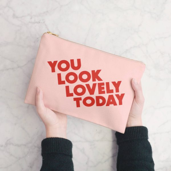Teenage girl gift idea makeup pouch