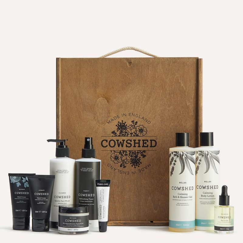 ultimate cowshed pamper hamper for mum-to-be