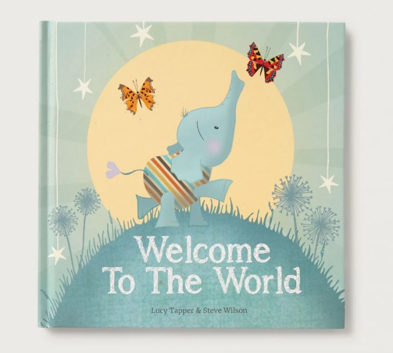 welcome to the world book baby gift idea