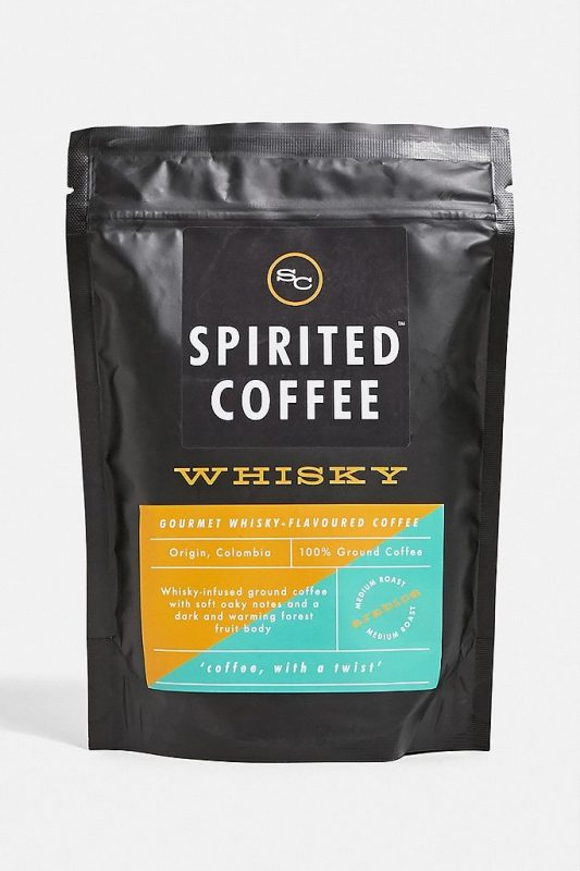 Whisky flavoured coffee gift