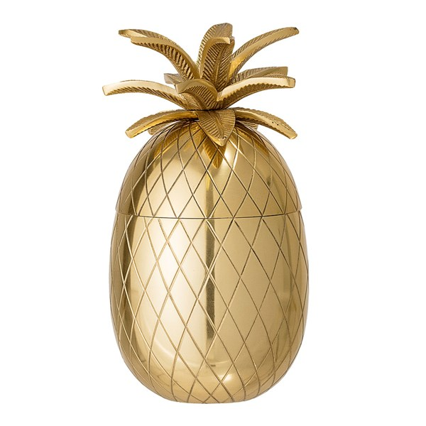 Golden pineapple ice bucket