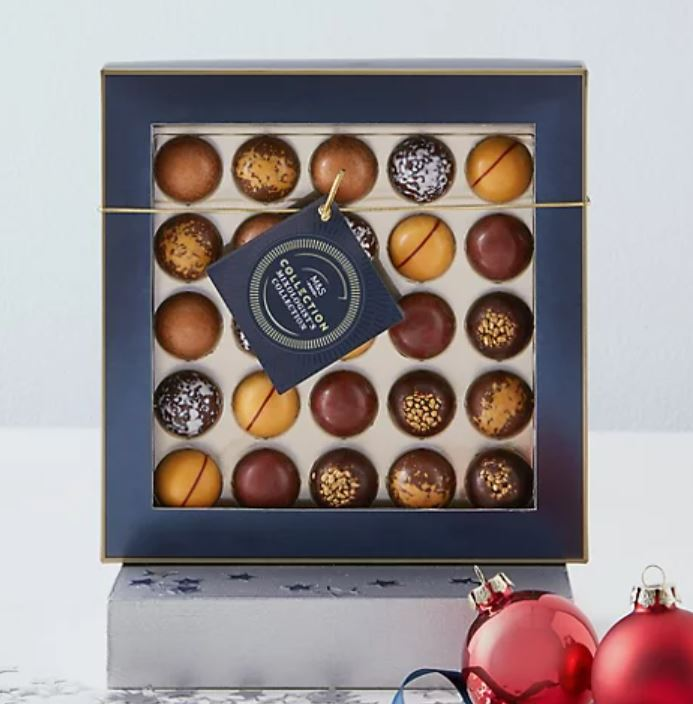 Cocktail flavoured chocolate box