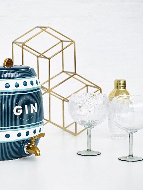 Ceramic gin barrel