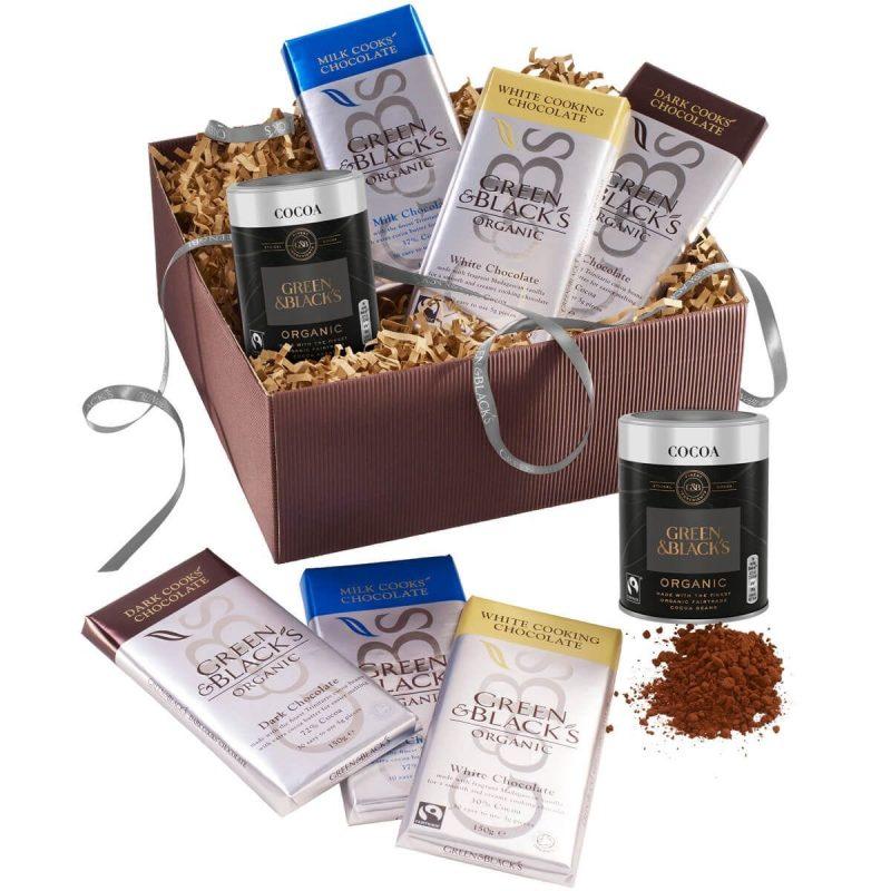 Chocolate baking kit gift set