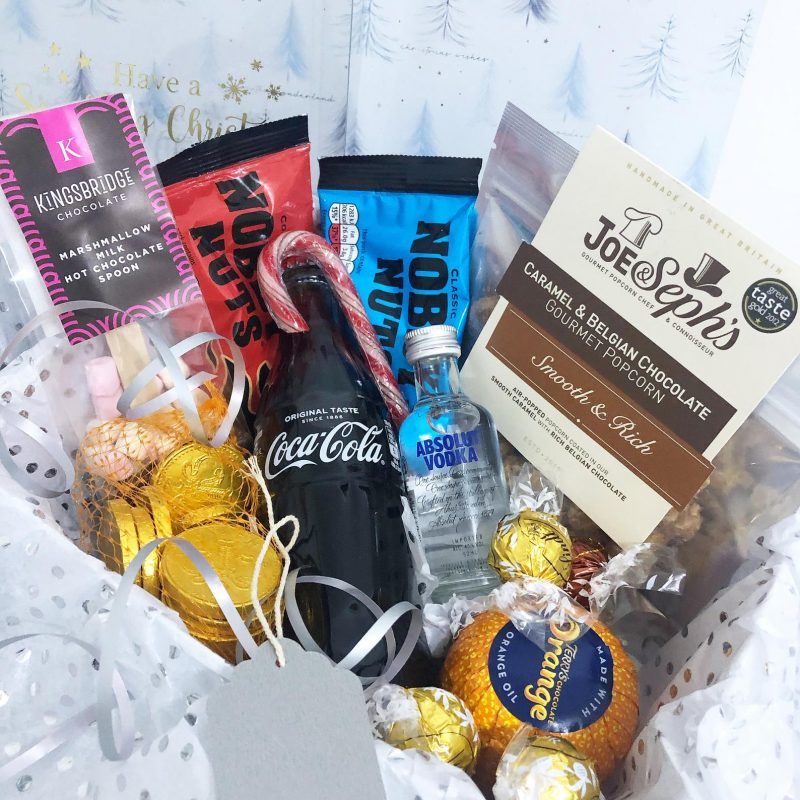 Christmas party box for employees