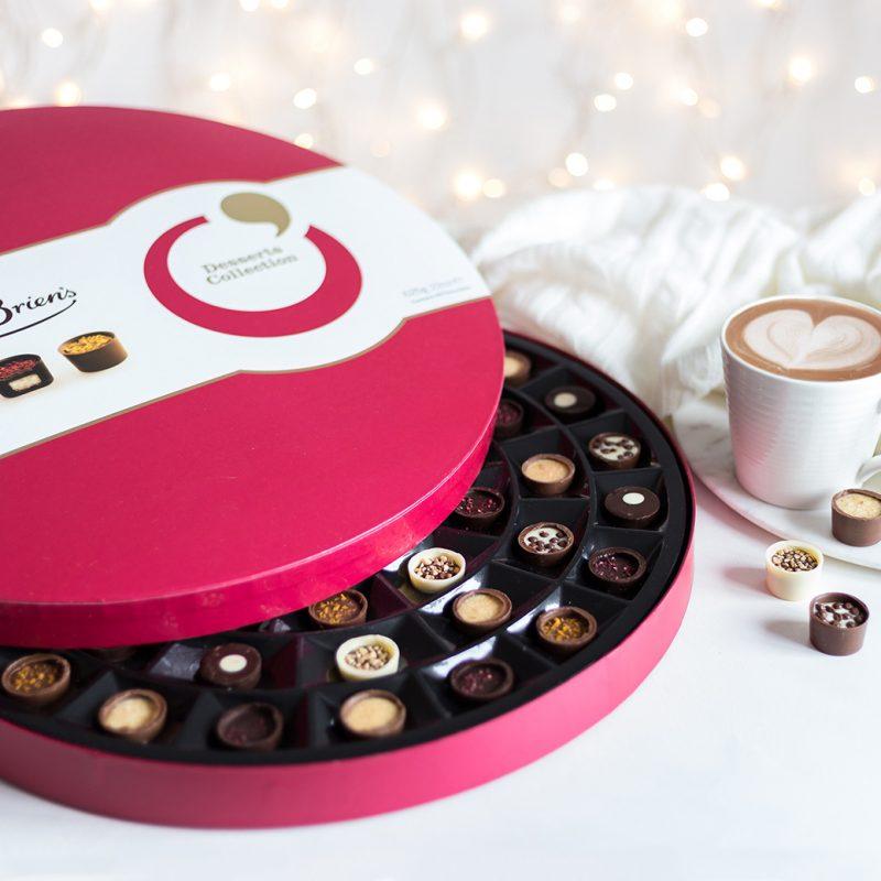 Hatbox of chocolates