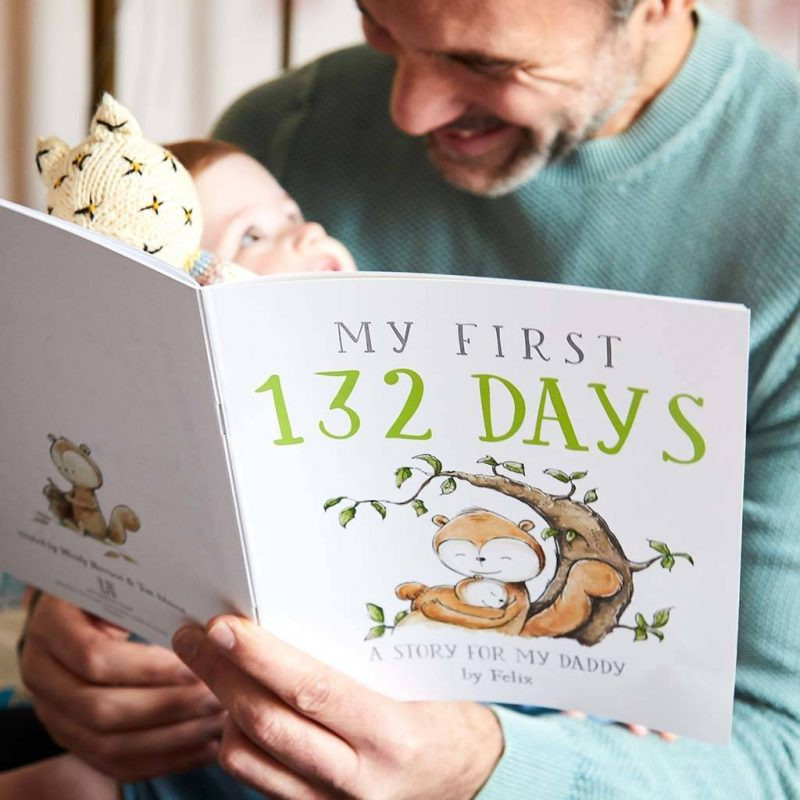 Personalised fathers book