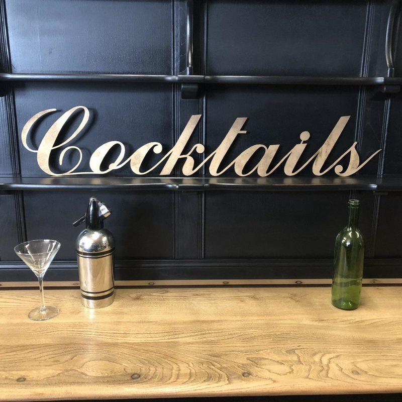 Cocktails signage