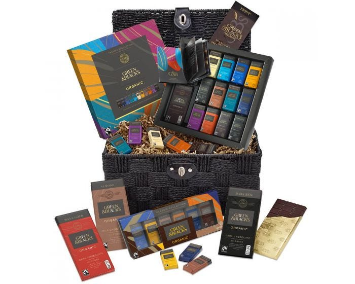 Green and black's chocolate lover's hamper