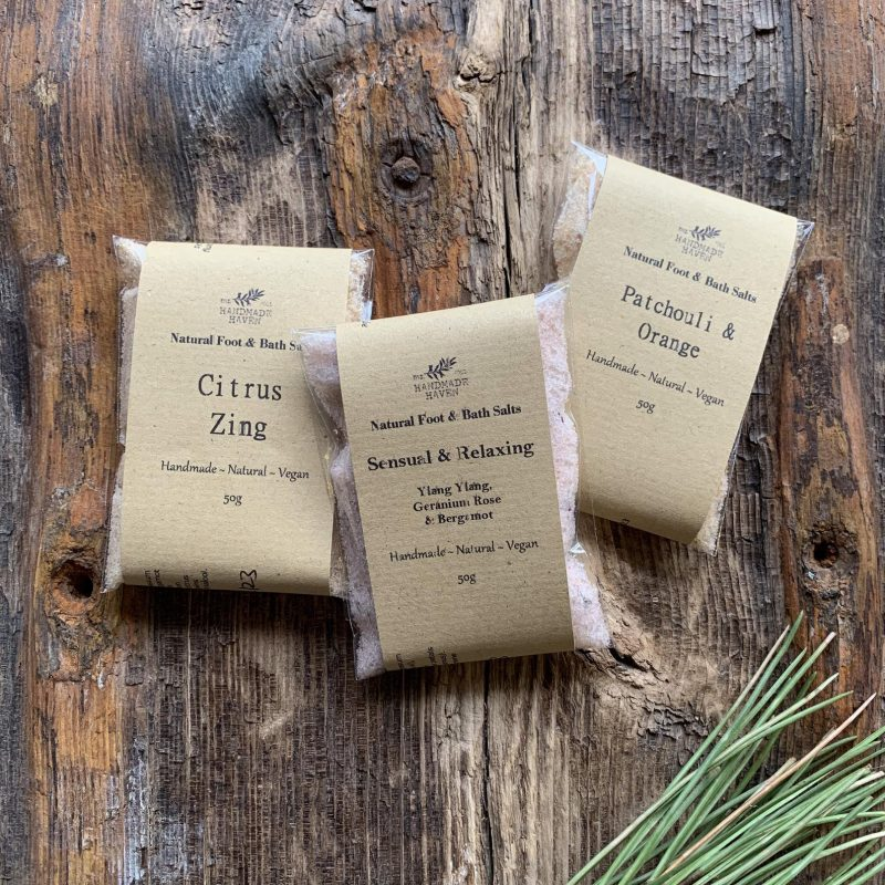 Himalayan bath salts affordable gifts for employees idea