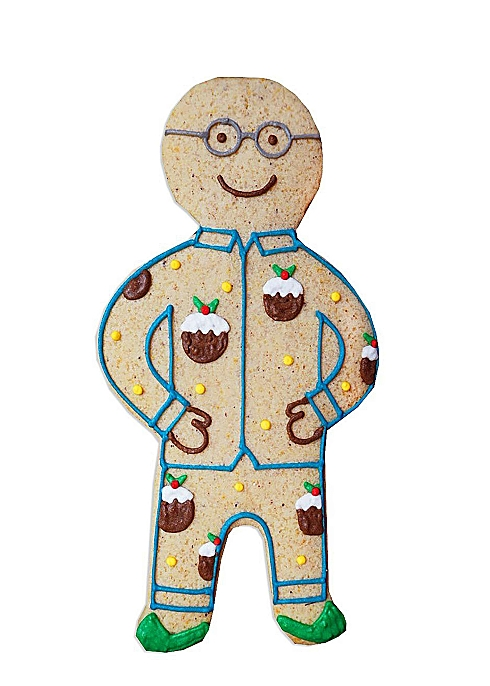 jolly gingerbread man gift for dad