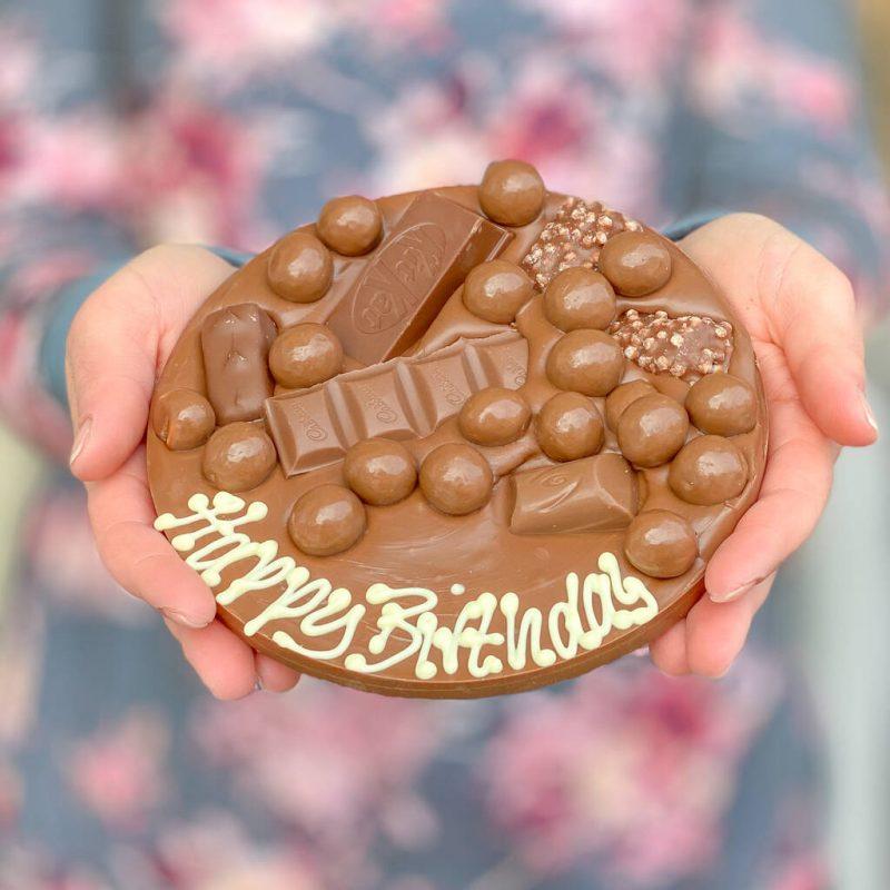 Chocolate hug gift