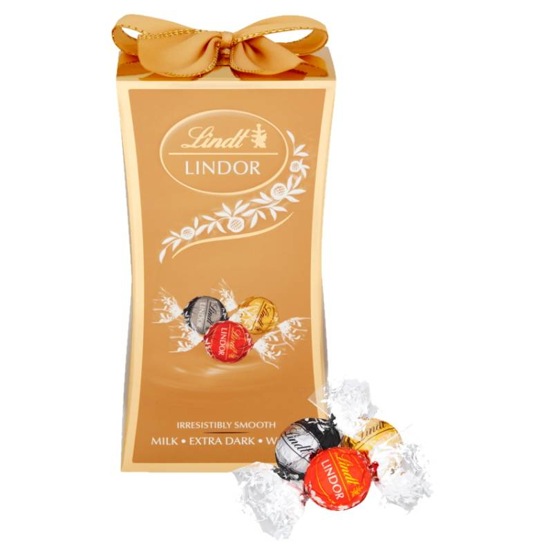 Small box of assorted truffles