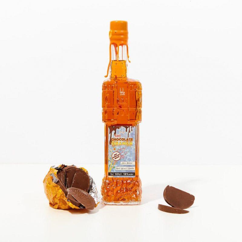 Chocolate orange flavoured gin liqueur