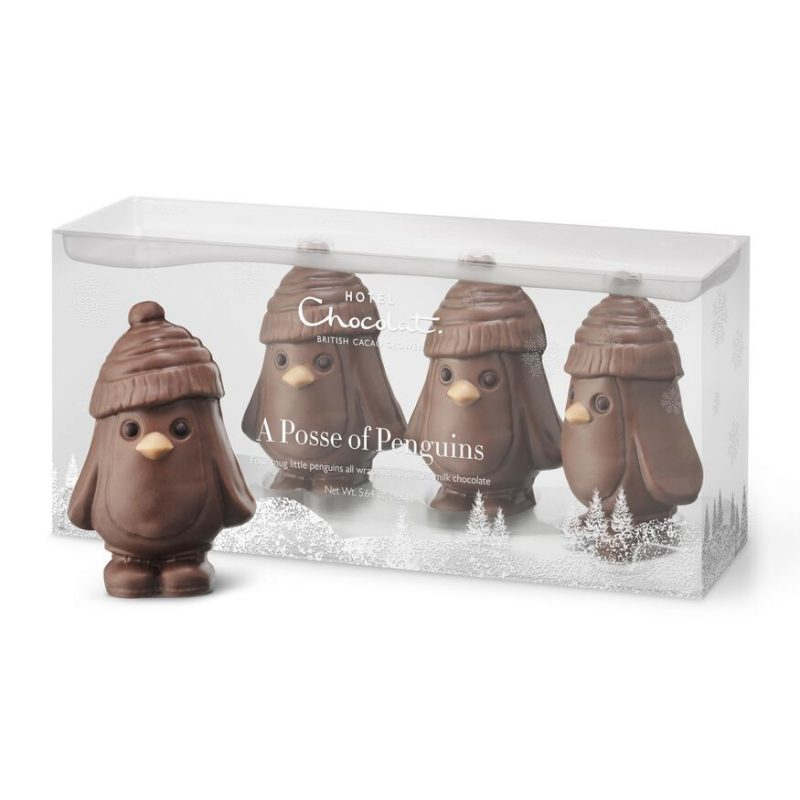 Posse of penguins from Hotel Chocolate