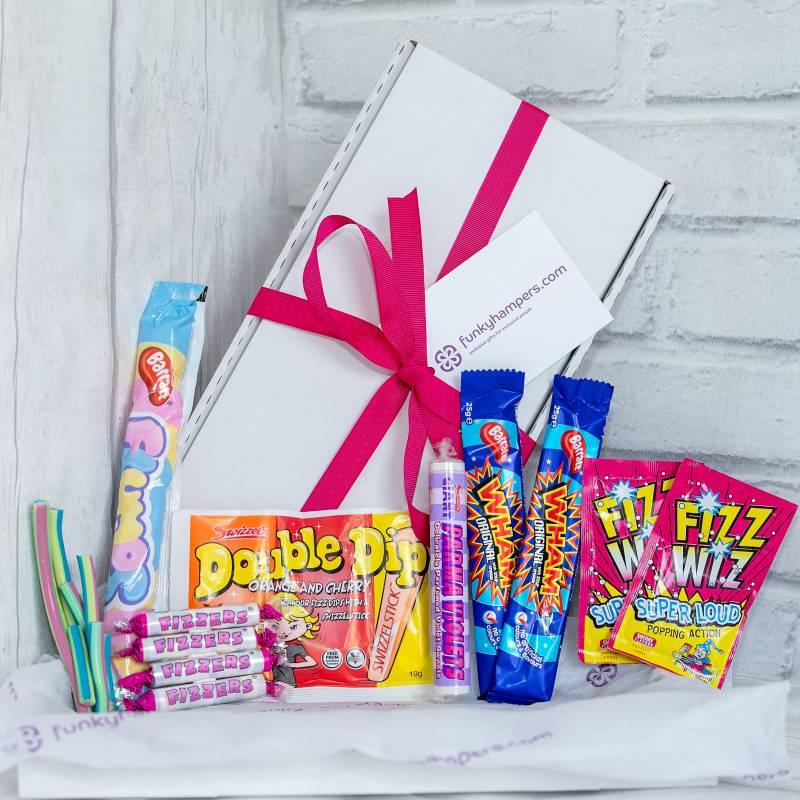 Retro sweet tuck box