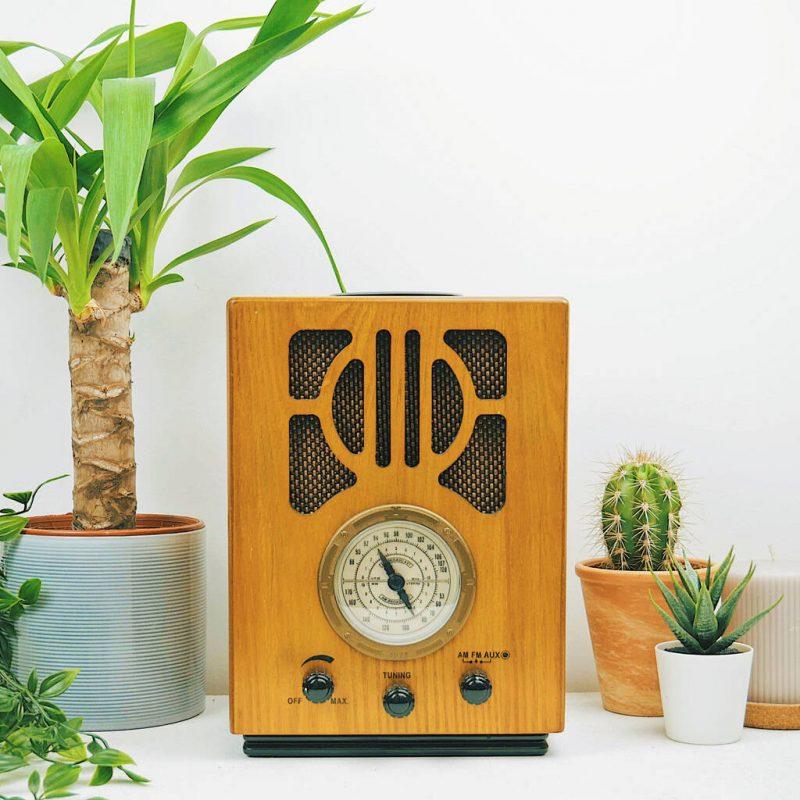 Steepleton old style radio