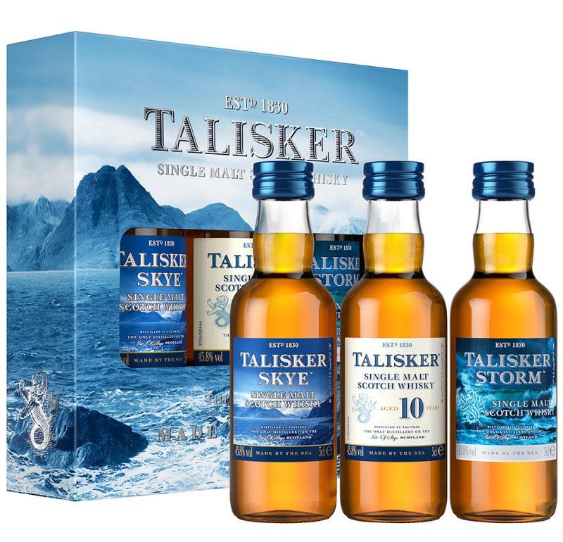 Talisker whiskey tasting kit